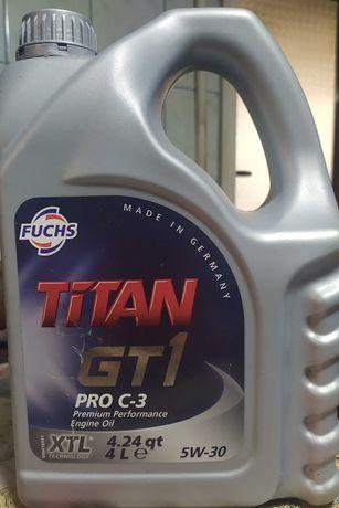 Масло Fuchs Titan (Фукс Титан) GT1 PRO C3 5W-30