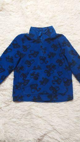 Тёплая флисовая кофта George на мальчика 3-4 года
