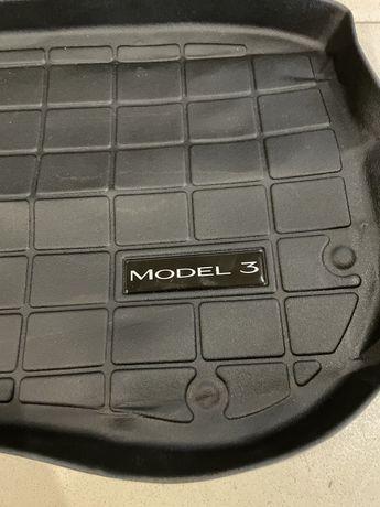 Коврик Tesla Model 3 в передний багажник