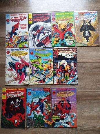 Zestaw komiksów Spider - Man rocznik 1990, 91, 92