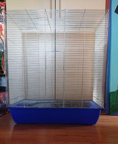 Klatka dla dwóch/trzech szczurów lub koszatniczek szczur koszatniczka