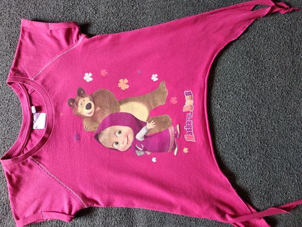 Koszulka Masza i Niedźwiedź - śliczna, zgrabna, żywe kolory