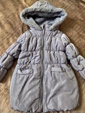 Зимова куртка на флісі на 4 рочки
