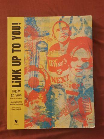 Livro de Inglês do 12o ano - Link UP To You - Ed. Texto.