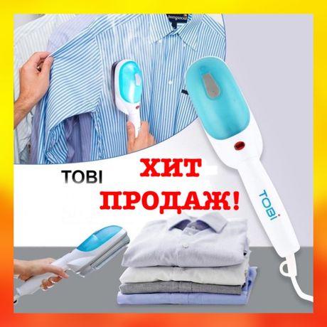 Ручной отпариватель щетка для одежды Tobi Steam Brush Паровой утюг