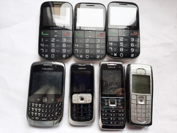 Telemóveis clássicos Nokia Alcatel etc