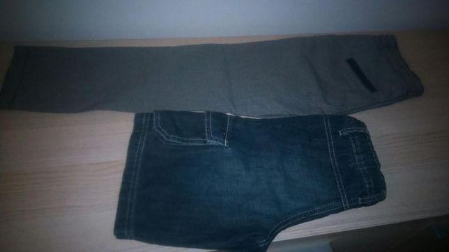Spodnie, spodenki, majki- bokserki 5-6 lat