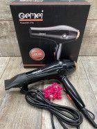 Фен профессиональный для сушки волос Gemei GM-1776 1800W подарок к 14Ф
