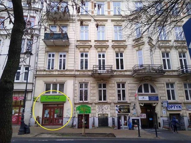 Lublin, Narutowicza. Lokal (87 m2) do wynajęcia, na poziomie ulicy.