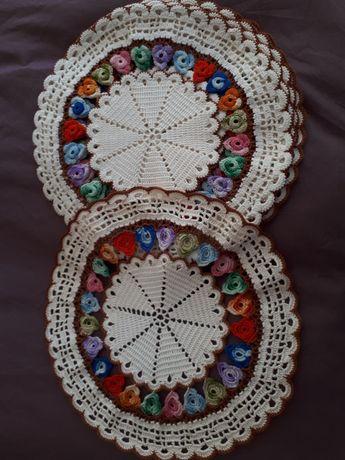 5 Naprons em crochet