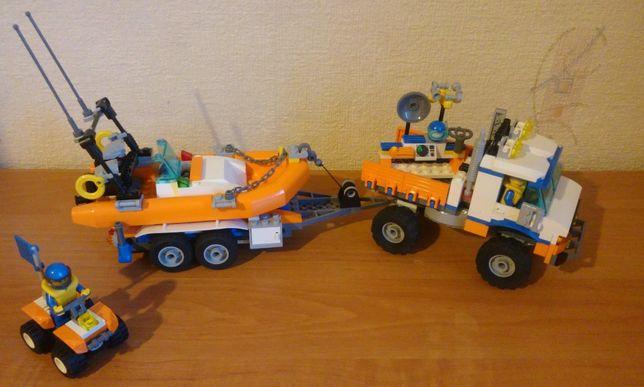 Straż przybrzeżna LEGO City 7726 + quad 7736