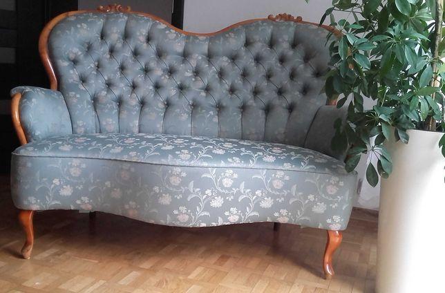 Sofa ludwikowska z fotelem