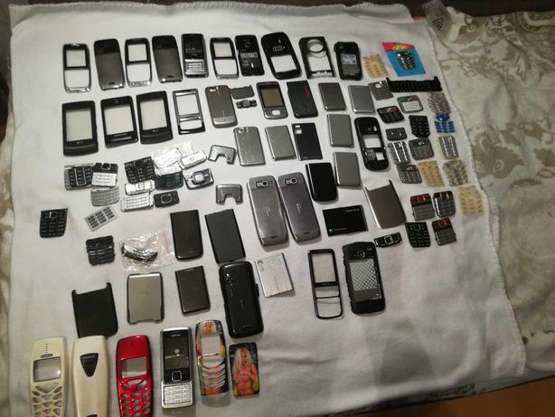 Pakiet obudowy panele klapki klawiatury do telefonów komórkowych