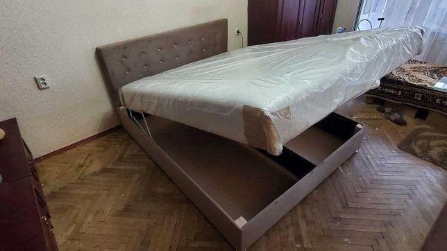 Кровать Двуспальная Камила с Ортопедическим Матрасом В Наличии АКЦИЯ