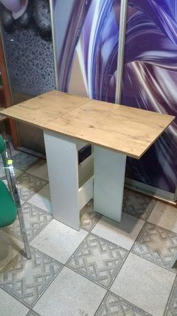 STÓŁ stolik rozkładany 105 x 60 dab lancelot biały składany modern