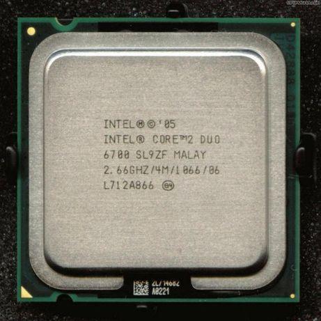 Processador core 2 duo 6700