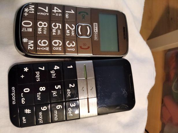 telefon dla seniora Maxcom i Emporia