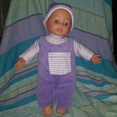 Интерактивная кукла плачет Dimian 38 см