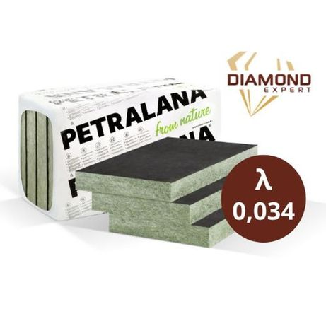 Wełna Mineralna- Elewacje Wentylowane- Petravent-LV-0,034 - 15 cm