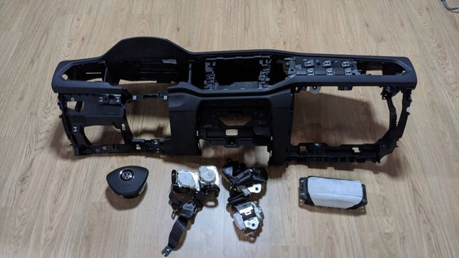 Conjunto Kit Airbags Volkswagen VW T-Roc Tablier Original