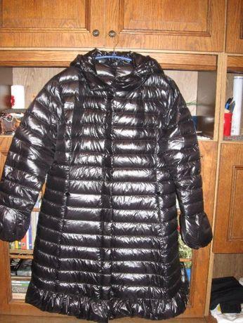 Czarny Puchowy płaszcz rozm 42 CONCEPT K. GERMANY