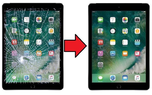 Szyba szybka z wymianą w iPad Air 2 A1566 A1567 Żelazna 89 550zł