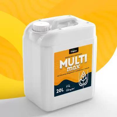Multi MAX! Mikroelementy + Aminokwasy + Azot. Ekstra wydajne!