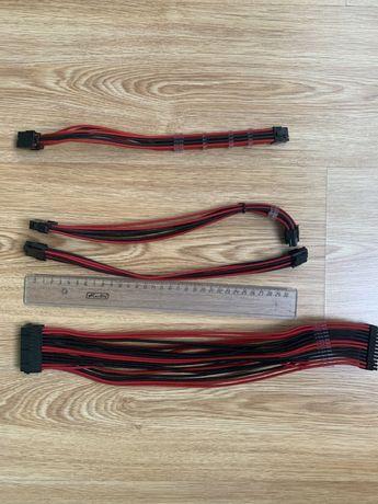Удлинительные кабеля, переходники для блока питания