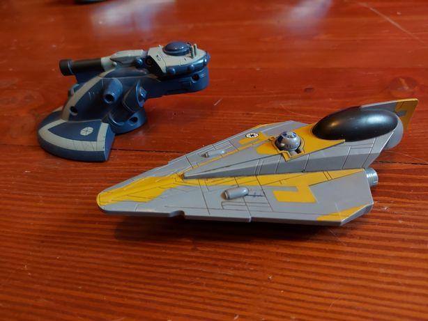 Dwa statki Star Wars - modele Mattel