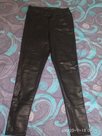 Шкіряні штани,лосини