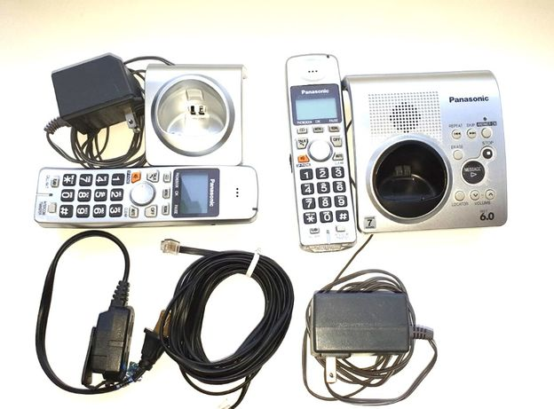Радиотелефон Panasonic сер. DECT 6.0. Модель KX-TG1032S. 2трубки