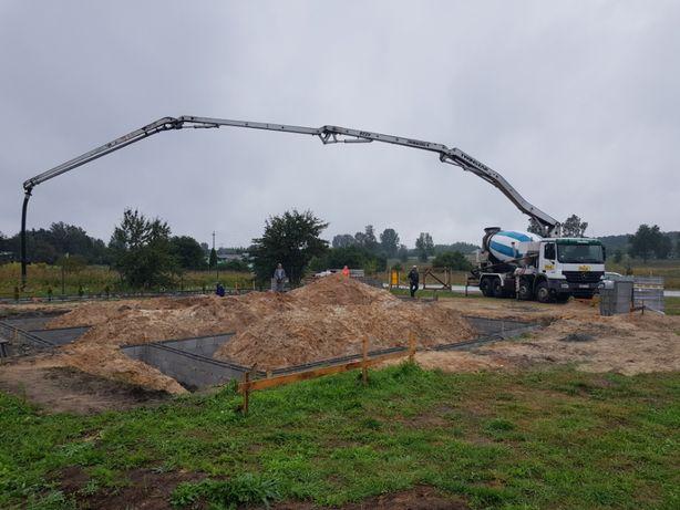 Beton Towarowy B20 C16/20 Transport pompa Śląsk