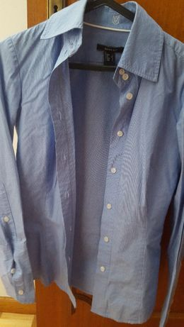 3 Camisas da Benetton, Mango e Zara