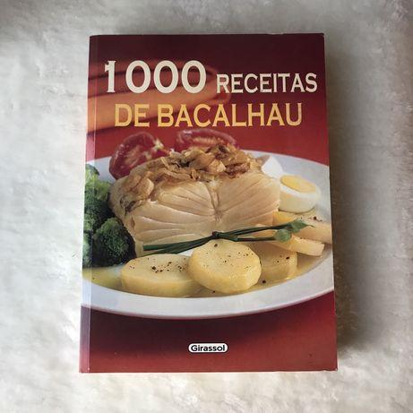 Livro 1000 receitas de bacalhau