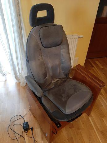 Fotel z regulacją, z matą do masażu, fotel samochodowy