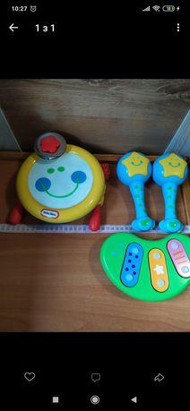 Музичні інструменти для маленьких. Little tikes.