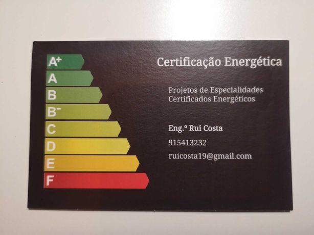 Certificado energético -  Certificação Energética