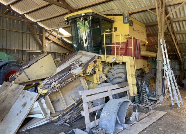 Kombajn New Holland TR86 , TX , idealny do kukurydzy, przystawka