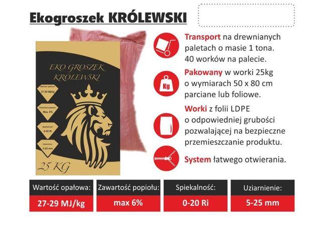 Ekogroszek KRÓLEWSKI 27-29 Mj/kg Tomaszów Mazowiecki