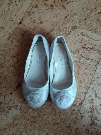 Туфли туфельки нарядные белые
