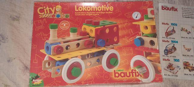 Baufix деревянный конструктор Немецкий