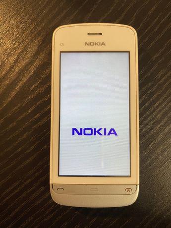 Nokia C5-03 branco telemóvel
