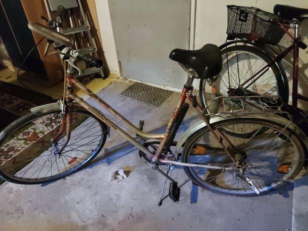 Rower damka koła 26 cali, 3 biegi w piaście