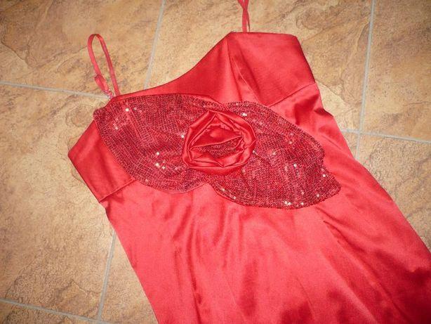 Sukienka czerwona Cekiny ,rozmiar uniwersalny