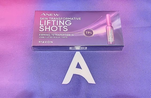 Avon Anew ampułki liftingujace wiek 55+