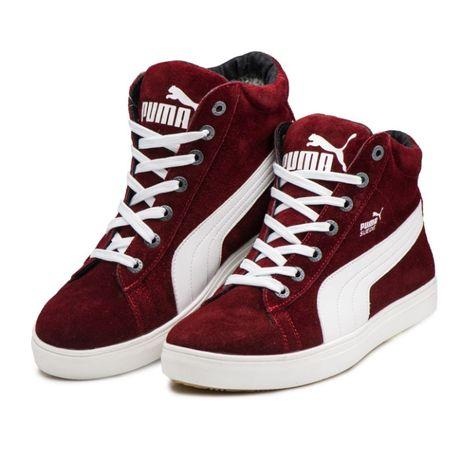 Люкс качество! Мужские зимние ботинки Puma два цвета