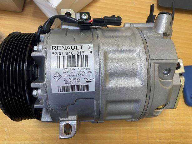 Новый компрессор кондиционера Renault Traffic, Master 1.6, 2.0, 2,3dci