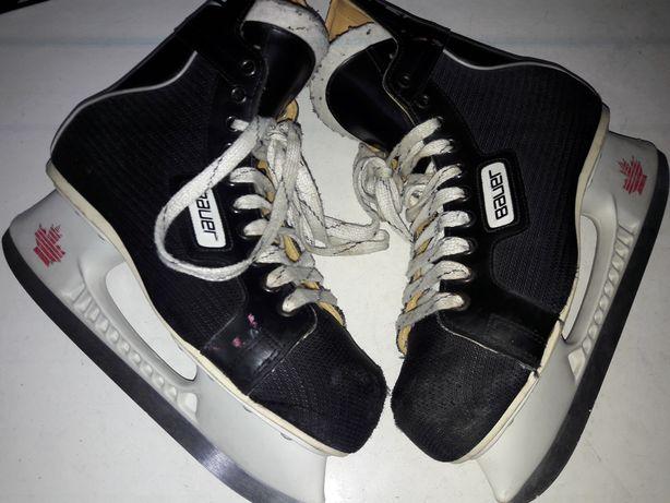 Łyżwy Hokejowe BAUER roz 42 wkładka 27 cm