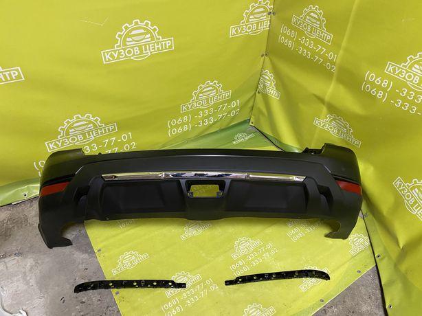 Nissan Rogue 2017 2018 2019 2020 бампер задний катафот хром рог
