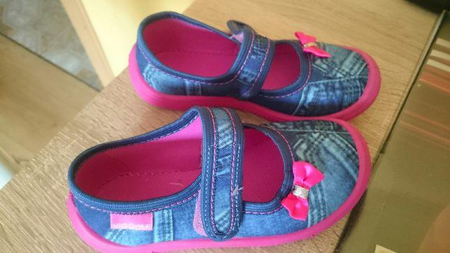 Nowe buty tenisowki trampki półbuty kapcie do przedszkola